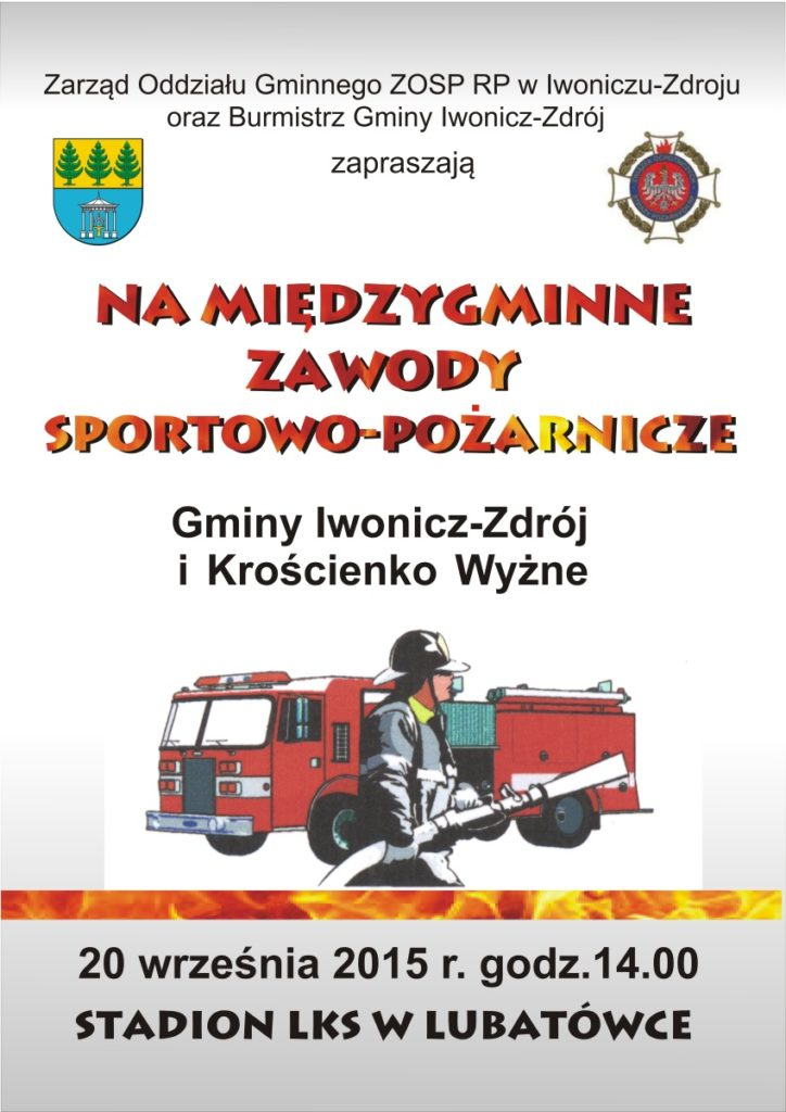 plakat osp 2010 -iwonicz